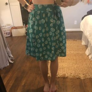 Teal the Limited midi skirt